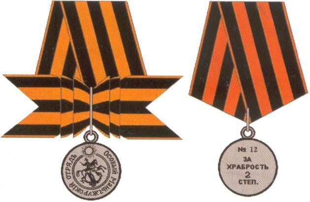 Награды гражданской войны